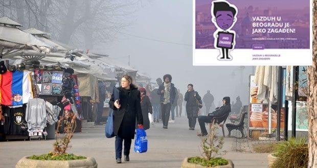 СРБИЈА У ЉУБИЧАСТОМ: Велико загађење данас широм земље (ПОДАЦИ ПО ГРАДОВИМА)