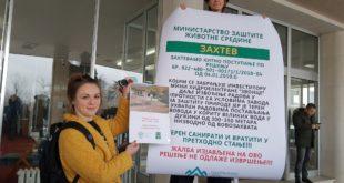 Протест покрета Одбранимо реке Старе планине: Без одлагања извадити цеви из Ракитске реке (видео)
