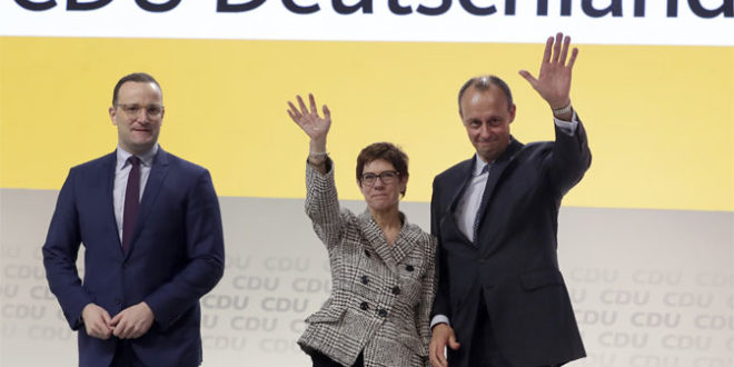 Борба за наследника Меркелове у ЦДУ