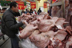 Кина: Цене свињског меса скочиле за 116 процената у односу на прошлу годину