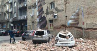 Загреб: Земљотрес оштетио зграде и цркве, људи бежали из домова (фото)
