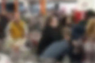 Туча у супермаркету на Чукарици: Купци брзо спречили физички обрачун (видео)