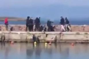 Лезбос: Грцима дојадиле НВО које им довлаче мигранте, пребили их и побацали у море (видео)