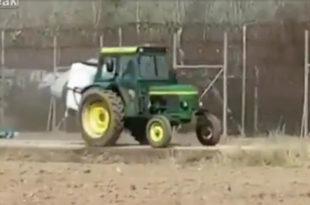 Грчки фармери прскају ограду на граници и мигранте свињском мокраћом (видео)