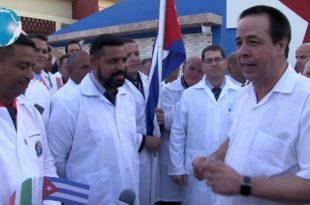 Мала и сиромашна Куба послала екипу лекара да помогну Италији у борби са корона вирусом (видео)