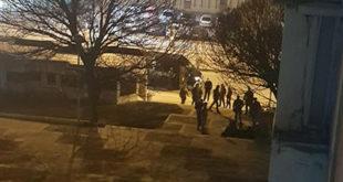 Жандармерија интервенисала против миграната на аутобуској станици у Врању