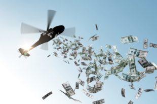"""""""Новац из хеликоптера"""" је геополитичка прекретница"""
