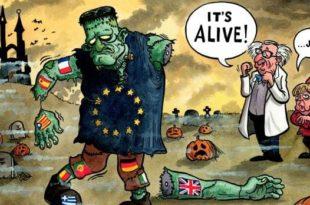 Крах идеје уједињене Европе на делу