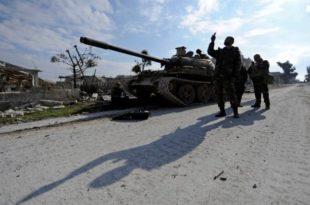 Сиријска војска након жестоке борбе повратила стратешки град у Идлибу (видео)