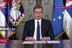 ДЈБ: Пре одлагања избора Вучић најавио да иде у Берлин да се консултује са Меркеловом. Зашто? (видео)