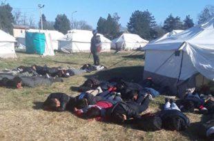 Тренутно стање у прихватном центру за мигранте у Обреновцу и Крњачи