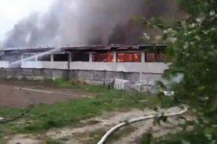 ЈАГОДИНА: Изгорео готово цео возни парк Дома здравља. Ко је одговоран?! (видео)