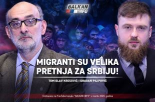АKТУЕЛНО: Томислав Kресовић и Драган Пилиповић - Мигранти су велика претња за Србију! (видео)