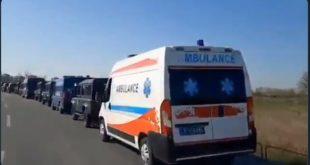 Масовна туча миграната у касарни у Обреновцу, интервенисале војска и полиција (видео)