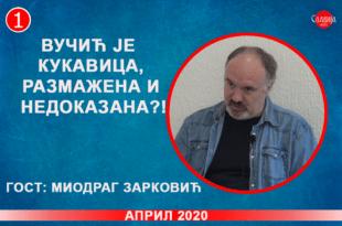 ИНТЕРВЈУ: Миодраг Зарковић - Вучић је кукавица, размажена и недоказана?! (видео)