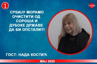 ИНТЕРВЈУ: Нада Kостић - Србију морамо очистити од Сороша и дубоке државе да би опстали?! (видео)