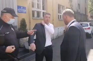 ОТВОРЕНИ ФАШИЗАМ ДИКТАТОРА: Приведено 15 чланова Двери после протеста испред Народне скупштине!