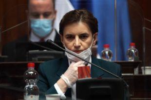 Ана Брнабић придружила Србију пројекту вакцинације СЗО и Била Гејтса и дала им донацију од два милиона €