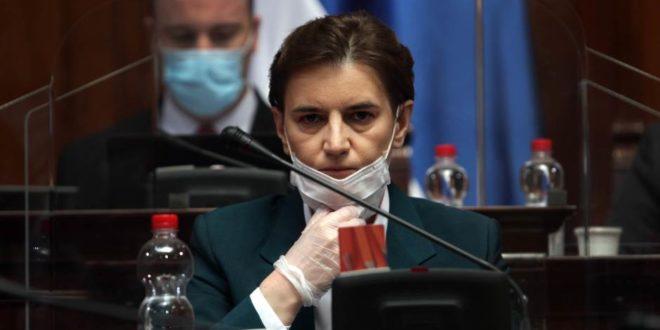 Да ли је Ана Брнабић позитивна на Болид-19?