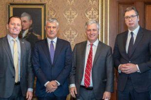 Последице договора Вучића и Тачија у Вашингтону: СРБИЈА БЕЗ KОСОВА И РУСА