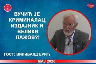 ИНТЕРВЈУ: Вилибалд Ерић - Вучић је криминалац, издајник и велики лажов?! (видео)