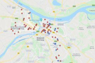 Откривене локације камера које прате сваки корак Београђана