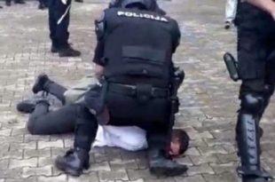 Милове усташе уз помоћ бруталне полицијске силе и терора воде рат против Срба у Будви (видео)