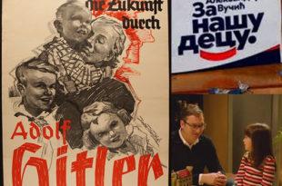 Александар Вучић плагирао слоган за камапању од Адолфа Хитлера и нациста