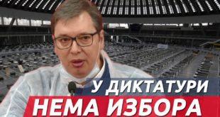 Нема избора у диктатури и тоталитарном систему (видео)