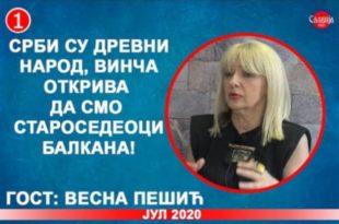 ИНТЕРВЈУ: Весна Пешић - Срби су древни народ, Винча открива да смо староседеоци Балкана! (видео)