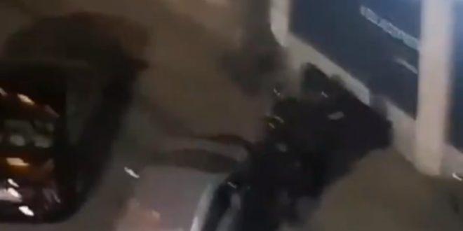 Београд: Погледајте како више полицајаца батина и онесвешћује жену (видео)