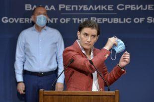 Нова лаж Ане Брнабић о тестирању на корону код приватника