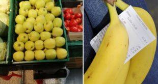ЈАБУКЕ СКУПЉЕ ОД БАНАНА: Килограм домаћег воћа у београдским маркетима кошта и дупло више од увозног