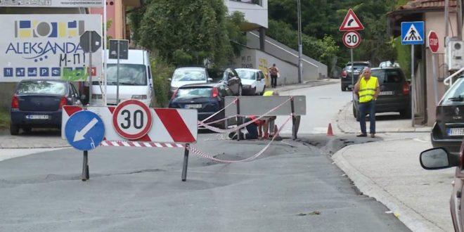 После јаче кише уништена реконструисана улица у Нишу, грађани најавили протест