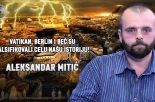 НАУKА И МИСТЕРИЈЕ: Александар Митић - Kако су Ватикан и језуити фалсификовали целу историју света?! (видео)