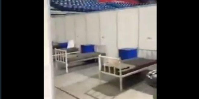 ШОК ВИДЕО Празна Арена, а кажу да тамо леже стотине оболелих и са упалама плућа!? (видео)