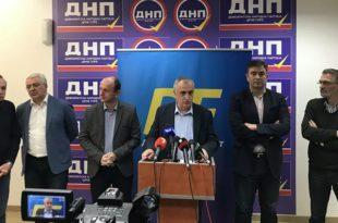 Заједно против Мила: Постигнут договор ДФ-а, СНП-а, Народног покрета и Праве Црне Горе