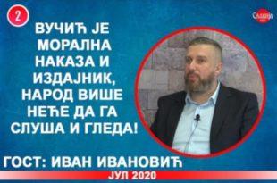 ИНТЕРВЈУ: Иван Ивановић - Вучић је морална наказа и издајник, народ неће да га слуша! (видео)