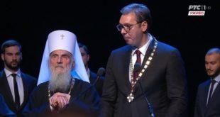 Марко Јакшић: Апсурдно је да патријарх подржава Вучића