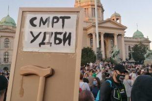 """Јањић: Протест ће се поновити кад се појави """"окидач"""""""