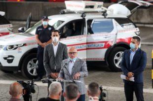 Весић комуналној милицији у Београду купио луксузне Ленд ровере за 2,5 милиона евра