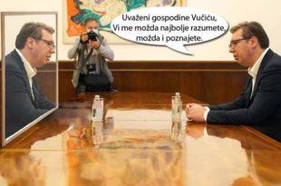Италијанска ТВ: Вучић преговара са Вучићем!