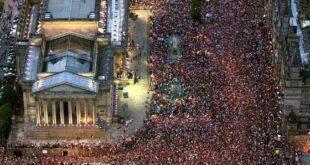 Жестоки анти корона протести и у Лондону, масовна хапшења и сукоби са полицијом (видео)