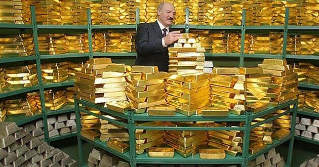 Лукашенко вратио злато Белорусије до задњег грама из иностранства