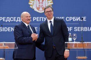 ВУЧИЋ ОКРЕНУО ЛЕЂА ЛУКАШЕНКУ Србија потписала Декларацију ЕУ о Белорусији