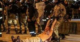 Полиција привела више од три хиљаде људи на протестима у Белорусији (видео)