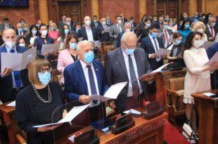 УЗУРПИРАНА Скупштина нема председника, ЗАБРЊИЧЕНА СТОКА чека Вучића