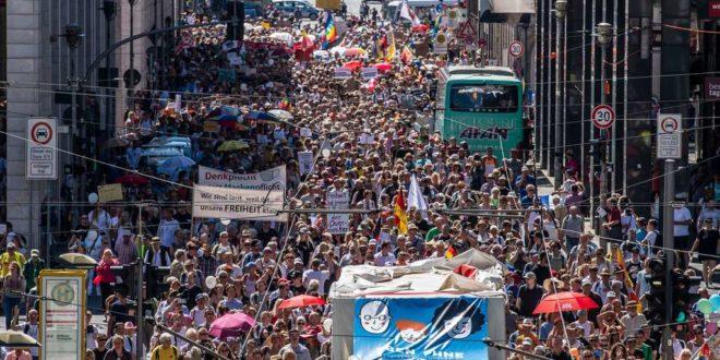 Немачка добила нову моћну политичку снагу (База), изниклу из антиковид протеста