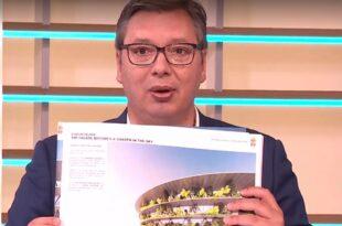 Петиција против изградње Националног стадиона