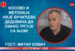 ИНТЕРВЈУ: Митар Kовач – Kосово и Метохија није Вучићева дедовина да овако тргује њом! (видео)